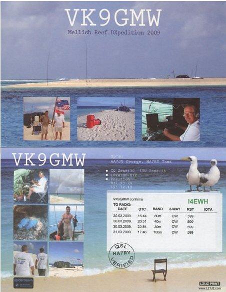Clicca sull'immagine per ingrandirla  Nome:   VK9GMW.jpg Visite: 172 Dimensione:   58.8 KB ID: 12327